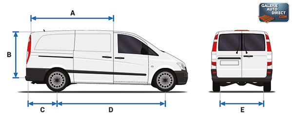 Dimension Peugeot Expert 2