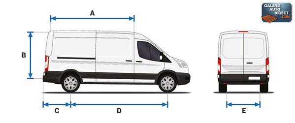 Dimension Peugeot BOXER